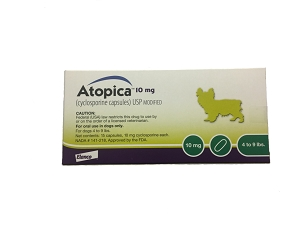 Atopica 10mg Capsules (15ct Box)