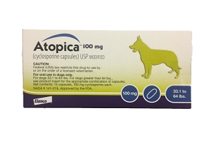 Atopica 100mg Capsules (15ct Box)