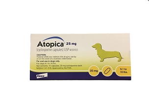 Atopica 25mg Capsules (15ct Box)
