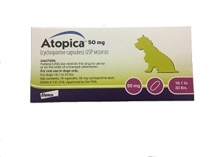 Atopica 50mg Capsules (15ct Box)